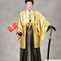 男の成人式紋服